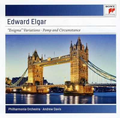 Edward Elgar / Enigma Variations / Pomp and Circumstance // Philharmonia Orchestra / Andrew Davis