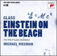 Philip Glass / Einstein on the Beach / Philip Glass Ensemble / Michael Riesman 4CD