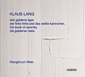 Klaus Lang / The Book of Serenity