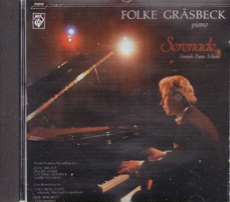 Serenade / Finnish Piano Music / Folke Gräsbeck