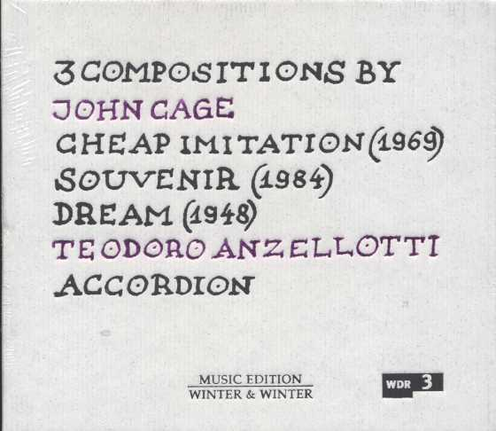 John Cage / Cheap Imitation / Souvenir / Dream / Teodoro Anzellotti