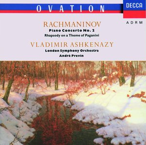 Sergei Rachmaninov / Piano Concerto No. 2 / Rhapsody on a Theme of Paganini / Vladimir Ashkenazy / London Symphony Orchestra / André Previn