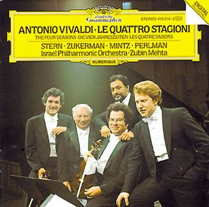 Antonio Vivaldi / The Four Seasons / Israel Philharmonic Orchestra / Zubin Mehta