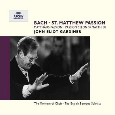 J.S. Bach / Matthäus-Passion (St. Matthew Passion) / Barbara Bonney / Anne Sofie von Otter / The English Baroque Soloists / John Eliot Gardiner 3CD