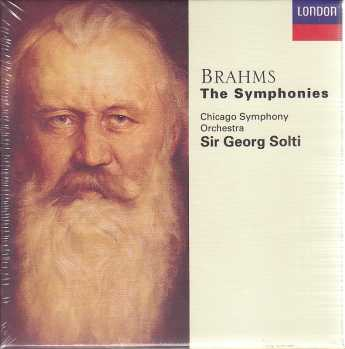 Johannes Brahms / Symphonies (Complete) / Chicago Symphony Orchestra / Sir Georg Solti 4CD