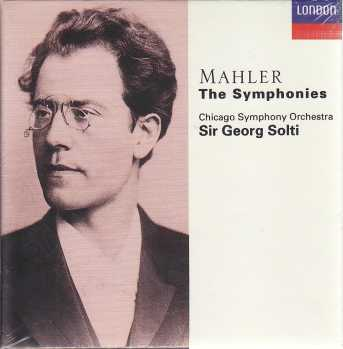 Gustav Mahler / Symphonies (Complete) / Chicago Symphony Orchestra / Sir Georg Solti 10CD