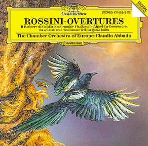 Gioacchino Rossini / Overtures / The Chamber Orchestra of Europe / Claudio Abbado