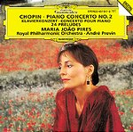 Frédéric Chopin / Piano Concerto No. 2 / 24 Preludes / Maria Joao Pires / Royal Philharmonic Orchestra / André Previn
