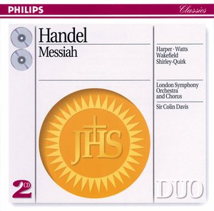 Georg Friedrich Händel / Messiah / London Symphony Orchestra / Sir Colin Davis