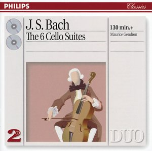 J.S. Bach / Cello Suites (Complete) // Maurice Gendron