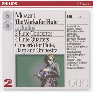 W.A. Mozart / The Works for Flute