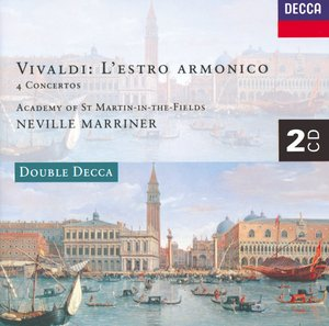 Antonio Vivaldi / L'estro Armonico / Concertos for Wind Instruments / Academy of St. Martin-in-the-Fields / Neville Marriner 2CD