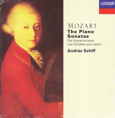 W.A. Mozart / Piano Sonatas (Complete) / András Schiff 5CD