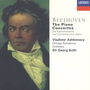 Ludwig van Beethoven / Piano Concertos (Complete) / Vladimir Ashkenazy / Chicago Symphony Orchestra / Sir Georg Solti 3CD