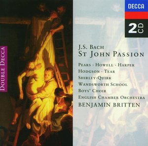 J.S. Bach / Johannes-Passion (St. John Passion) / English Chamber Orchestra / Benjamin Britten