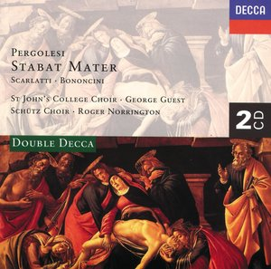 Giovanni Battista Pergolesi / Stabat Mater / Felicity Palmer / Choir of St John's College, Cambridge / George Guest