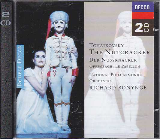 Pyotr Tchaikovsky / The Nutcracker, etc. / National Philharmonic Orchestra / Richard Bonynge 2CD