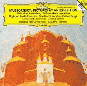 Modest Mussorgsky / Pictures at an Exhibition / ym. / Elena Zaremba / Berliner Philharmoniker / Claudio Abbado