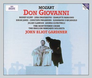 W.A. Mozart / Don Giovanni / Rod (Rodney) Gilfry / Luba Orgonasova / The English Baroque Soloists / John Eliot Gardiner 3CD