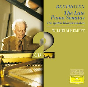 Ludwig van Beethoven / The Late Piano Sonatas / Wilhelm Kemff 2CD