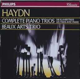 Joseph Haydn / Complete Piano Trios / Beaux Arts Trio 9CD