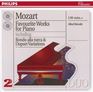 W.A. Mozart / Favourite Works for Piano / Alfred Brendel