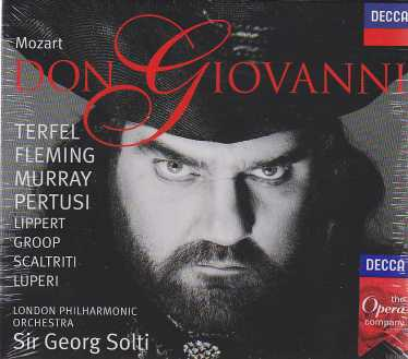 W.A. Mozart / Don Giovanni / Bryn Terfel / Renée Fleming / London Philharmonic Orchestra / Sir Georg Solti 3CD