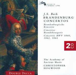 J.S. Bach / Brandenburg Concertos (Complete) / The Academy of Ancient Music / Christopher Hogwood