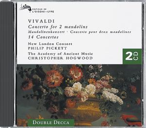 Antonio Vivaldi / Concerto for 2 Mandolins etc. / Philip Pickett / Christopher Hogwood 2CD