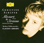 W.A. Mozart / Arias / Richard Strauss / Orchestral Songs / Christine Schäfer / Berliner Philharmoniker / Claudio Abbado