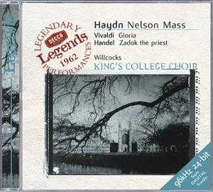 Joseph Haydn / Nelson Mass / Antonio Vivaldi / Gloria / King's College Choir / Sir David Willcocks