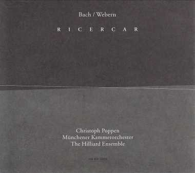 J.S. Bach / Anton Webern / Ricercar // The Hilliard Ensemble
