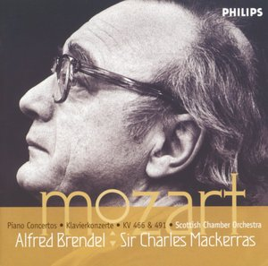 W.A. Mozart / Piano Concertos K466 & K491 // Alfred Brendel / Scottish Chamber Orchestra /  Sir Charles Mackerras