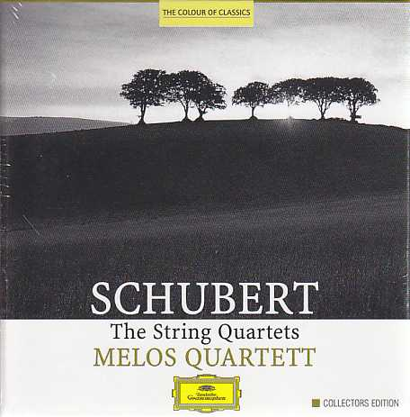 Franz Schubert / String Quartets (Complete) / Melos Quartett 6CD