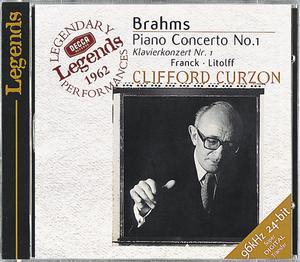 Johannes Brahms / Piano Concerto No. 1 / LSO / Georg Szell / Clifford Curzon