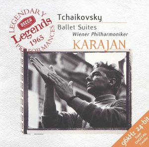 Pyotr Tchaikovsky / Ballet Suites: Swan Lake, The Sleeping Beauty, The Nutcracker / Wiener Philharmoniker / Herbert von Karajan