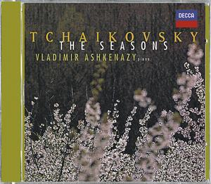 Pyotr Tchaikovsky / The Seasons / Vladimir Ashkenazy