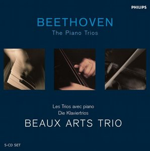 Ludwig van Beethoven / Piano Trios (Complete) / Beaux Arts Trio 5CD