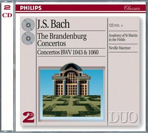 J.S. Bach / Brandenburg Concertos (Complete) / Concerto for 2 Violins / Concerto for violin and oboe / Gidon Kremer / Academy of St Martin in the Fields / Sir Neville Marriner