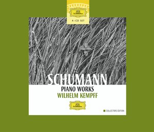 Robert Schumann / Piano Works / Wilhelm Kempff 4CD
