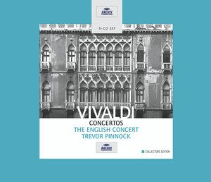 Antonio Vivaldi / Concertos / The English Concert / Trevor Pinnock 5CD