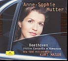 Ludwig van Beethoven / Violin Concerto / Romances // Anne-Sophie Mutter / New York Philharmonic / Kurt Masur