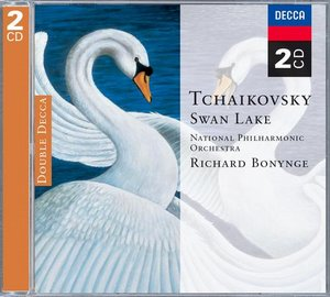 Pyotr Tchaikovsky / Swan Lake / National Philharmonic Orchestra / Richard Bonynge 2CD