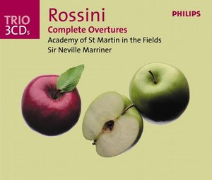Gioachino Rossini / Overtures (Complete) / Academy of St Martin in the Fields / Sir Neville Marriner 3CD
