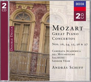 W.A. Mozart / The Great Piano Concertos / András Schiff