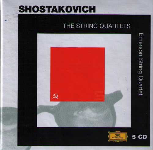 Dmitri Shostakovich / String Quartets (Complete) / Emerson String Quartet 5CD