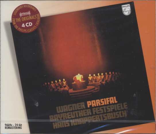 Richard Wagner / Parsifal / Jess Thomas / George London / Martti Talvela / Hans Hotter / Bayreuther Festspiele / Hans Knappertsbusch