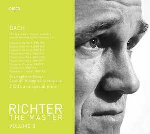 J.S. Bach / English Suites 3, 4 & 6 / French Suites 2, 4 & 6 etc. / Sviatoslav Richter 2CD
