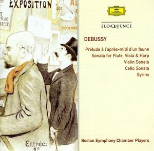 Claude Debussy / Chamber Works // Boston Symphony Chamber Players