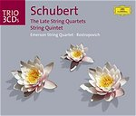 Franz Schubert / String Quartets (Late) / String Quintet / Emerson String Quartet 3CD